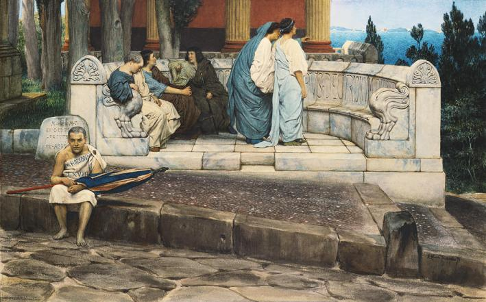 an-exedra-sir-lawrence-alma-tadema