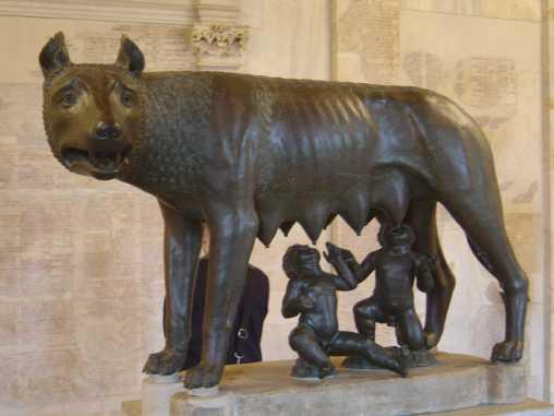 Romulus.Remus.Wolf
