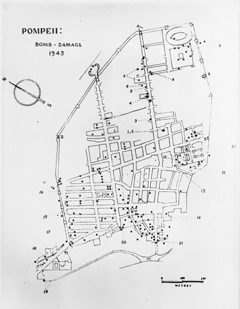 Plan Pompeii 1943 Bomb Damage Bestand-Microfiche-D-DAI-ROM-1303_D06 neg 65.2004.jpeg